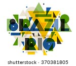 brazil and rio in abstract...