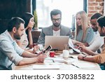 time to familiarize new... | Shutterstock . vector #370385822