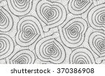 abstract vector seamless floral ... | Shutterstock .eps vector #370386908