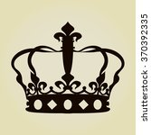 crown icon  | Shutterstock .eps vector #370392335