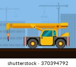 carry deck industrial crane... | Shutterstock .eps vector #370394792