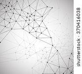 molecular structure background | Shutterstock .eps vector #370416038