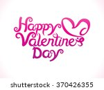 abstract artistic valentine day ... | Shutterstock .eps vector #370426355