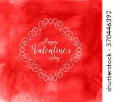 valentine's day background with ...   Shutterstock .eps vector #370446392