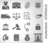 police crime justice legal...   Shutterstock .eps vector #370456616