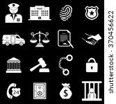 police crime justice legal...   Shutterstock .eps vector #370456622