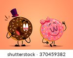 donut boy and girl in love....