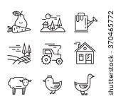 vector illustration of... | Shutterstock .eps vector #370465772