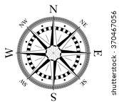 compass navigation dial  ... | Shutterstock .eps vector #370467056