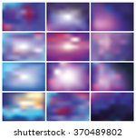 abstract blurred effect...   Shutterstock .eps vector #370489802