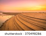 the beach at twilight time.... | Shutterstock . vector #370498286
