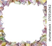 Euro Banknotes Background With...