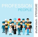 set of people icons occupation... | Shutterstock .eps vector #370518182