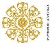 ornament elements  vintage gold ... | Shutterstock . vector #370534616
