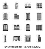 buildings symbol for web icons | Shutterstock .eps vector #370543202