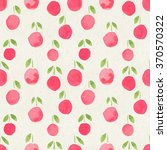 seamless watercolor pattern on... | Shutterstock . vector #370570322