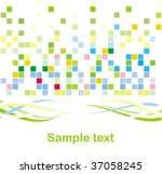 mosaic background | Shutterstock .eps vector #37058245