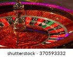 casino roulette   closeup | Shutterstock . vector #370593332
