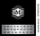 monogram design elements ...   Shutterstock .eps vector #370601432