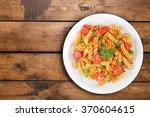 pasta. | Shutterstock . vector #370604615
