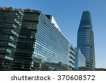 Small photo of MILAN, ITALY - NOVEMBER 7, 2015: Diamond Tower and the Diamantini Buildings designed by the Kohn Pederson Fox in the Porta Nuova district in Milan, Italy.