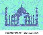 taj mahal   Shutterstock .eps vector #37062082