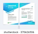 business brochure  flyer and... | Shutterstock .eps vector #370626506