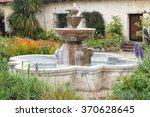Spanish Mission Fountain.  ...
