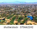 Aerial View Of Golf Course Wit...