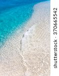 crystal clear tropical water | Shutterstock . vector #370665542