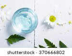 spa setting with cosmetic cream ... | Shutterstock . vector #370666802