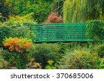 Bridge On A Path In A Flower...