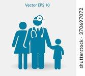 family practice vector... | Shutterstock .eps vector #370697072