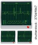 pulse monitor | Shutterstock .eps vector #37069867