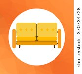 couch icon | Shutterstock .eps vector #370734728