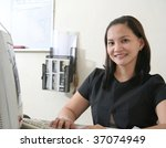 asian career woman | Shutterstock . vector #37074949