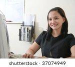 asian career woman | Shutterstock . vector #37074949