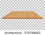 vector wood table top on... | Shutterstock .eps vector #370768682