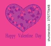 backgraund with hand drawn... | Shutterstock . vector #370775648