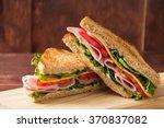 Sandwich Bread Tomato  Lettuce...