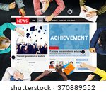 Small photo of Achievement Attainment Success Victory Concept