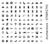 car icons set. | Shutterstock .eps vector #370892792