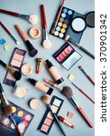 objects for makeup | Shutterstock . vector #370901342
