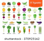 colorful collection of cute... | Shutterstock .eps vector #370925162