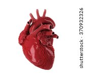 3d rendered human heart... | Shutterstock . vector #370932326