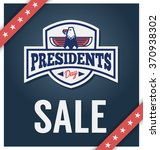 presidents day sale banner for... | Shutterstock .eps vector #370938302