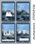 flat design infographics...