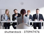 Woman During Job Interview And...