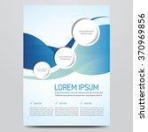 flyer  brochure  poster  annual ... | Shutterstock .eps vector #370969856