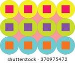 seamless geometric pattern.... | Shutterstock .eps vector #370975472